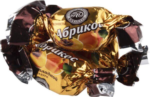 Конфета Абрикос в шоколаде